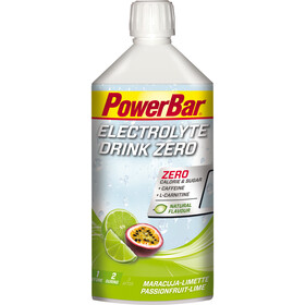 PowerBar Napój elektrolitowy 1l, Passion Fruit-Lime Zero Sugar with Caffeine & L-Carnitin
